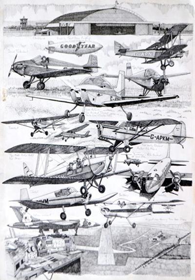 sunderland flying club aircraft
