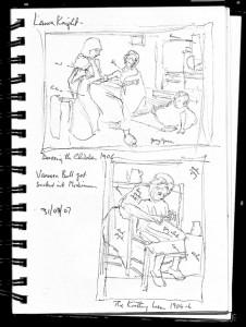 paura knight & vanessa bell, laing gallery