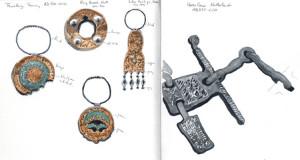 jewellery & horse artefact