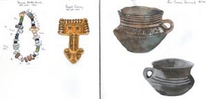 saxon jewellery & bowls