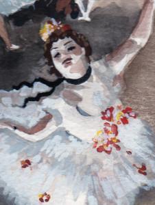 dancer detail
