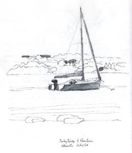 yacht on ullswater